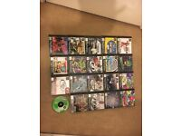 PlayStation 1 console with 20 games + leads 2 controller