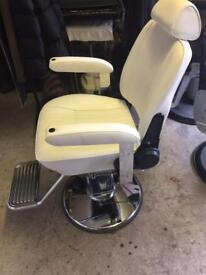 1 brand new Belmont sportsman barbers chair