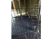 Large dog crate £20 ono