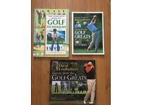 Golf books £1 each