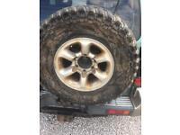 Shogun tyres and alloys