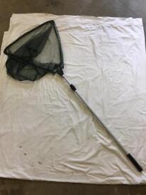 Fishing net. Telescopic alloy handle