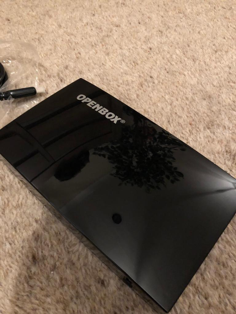 OPENBOX V8S Satellite HD Receiver Box  Excellent condition  Includes WiFi  USB dongle  | in Whitefield, Manchester | Gumtree
