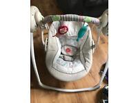 Baby swing rocker. Cozy kingdom ingenuity