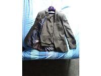 Next black mens 3 piece suit