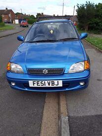 FOR SALE. 3 Door Suzuki Swift, In good condition for it age.