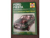 Haynes manual for Ford Fiesta