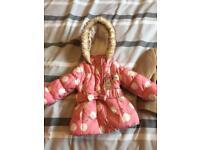 Girls 3/6 months jackets
