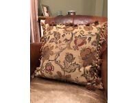 Two Tapestry cushions