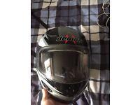 Demon motorcycle helmet, size S