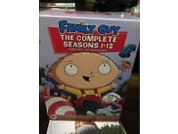 Family guy seasons 1 - 12