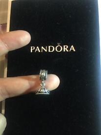 Pandora silver tiara charm