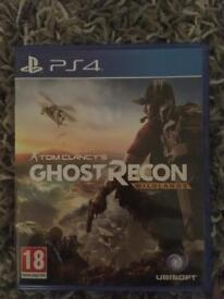 Tom Clancy ghost recon PS4