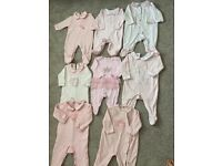Spanish style baby grow bundle 6-9 months