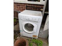Broken washing machine