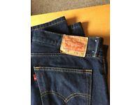 Levi 505 mens jeans 4 pairs w34 L29
