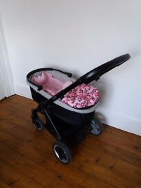 Oyster Stroller pram with accessories (Stroller colour pack + carrycot colour pack