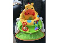 Baby play and feeding booster seat fisher price