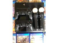 Ps4 2 controllers 16 games plus more