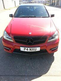 Mercedes-Benz C 250 CDI BlueEFFICIENCY AMG Sport Plus 7G-Tronic Plus 4dr Black Roof