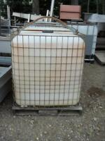 Dirty Metal Totes c/w Plastic Containers $100.00 each