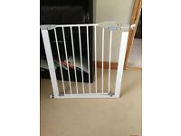 2 Hardly used Child gates plus bed Guard