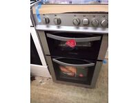 [Boxed-New] Montpellier Silver 50cm Gas Cooker - MDG500LS