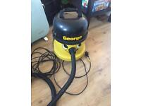 George Henry numatic Hoover wet dry