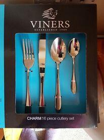 Viners stainless steel set