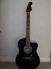 Lindo LDG-933CTBKS Apprentice Series Cutaway Acoustic Guitar. Good Condition.