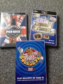 DVD games. 50p each