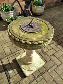 Sundial for the garden