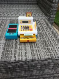 Working Cash Register Toy