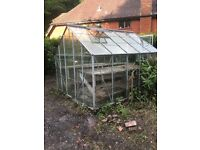Greenhouse - 10' x 8' - In fair condition. Buyer dismantles and removes please.