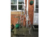 Step Ladders three in one Abru quality make