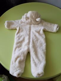 Boys snowsuit 3 to 6 months