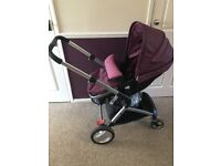 Roma buggy/ pram with car seat and isofix