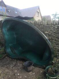 Garden Pond. Fibreglass. Large. RRP > £450