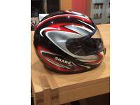 Shark motorcycle helmet