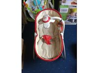 Vibrating baby 3-in-1 rocker