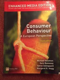 Consumer Behaviour - A European Perspective