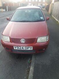 VW POLO 2001 1.4 DIESAL 3 DOOR
