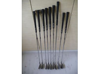 Ping i3 O-Size Blue Dot Irons 9-4, 1 Iron, S&W. Left Handed