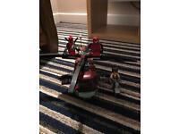 Lego wolverine chopper showdown