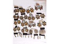 22 PAIRS OF ANTIQUE LOOK EARRINGS ALL NEW