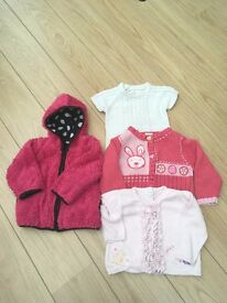 Baby girl's clothes bundle 9-12 months