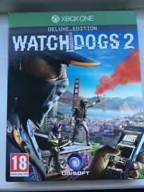 Watch Dogs 2 Deluxe Edition With UNUSED CODES - XBOX ONE