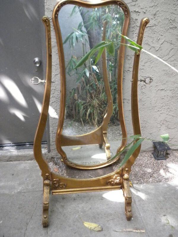 Art Deco Dressing Mirror- Gold leaf