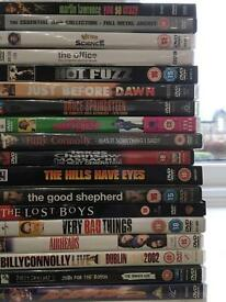 Over 85 DVDs for sale