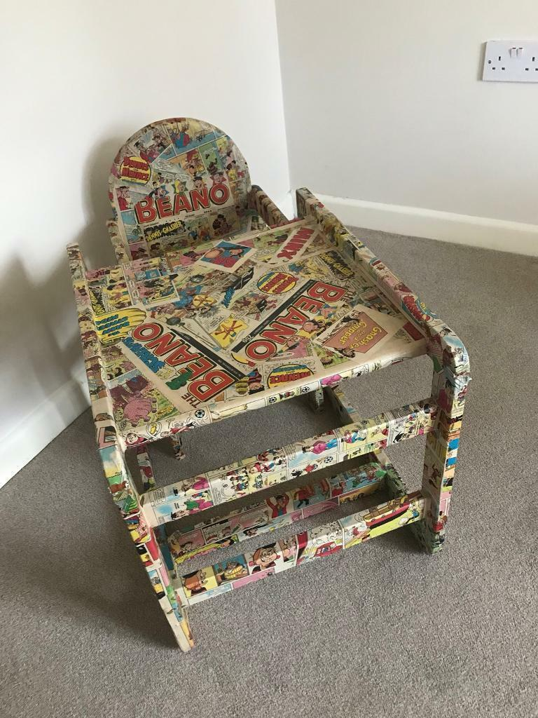 Amazing Upcycled Desk And Chair Beano Comic Theme Kids Bedroom Furniture In Coventry West Midlands Gumtree Download Free Architecture Designs Scobabritishbridgeorg